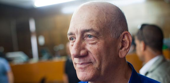 אהוד אולמרט / צילום: יותם רונן