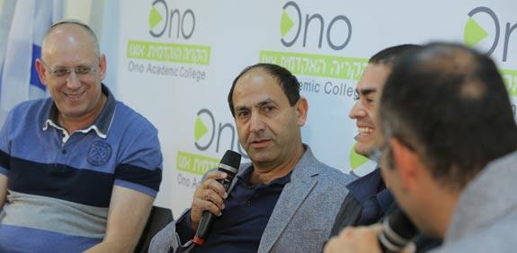 רמי לוי ואבי כץ / צילום: אורן כהן