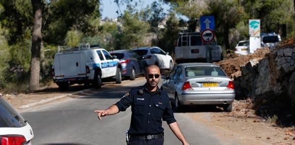 היער בו נמצאה גופתו של הנער הפלסטיני / צילום: רויטרס