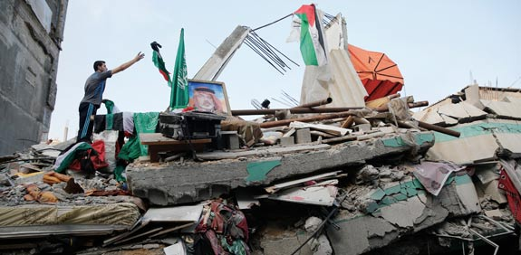 home of Ismail Haniyeh  picture: Reuters