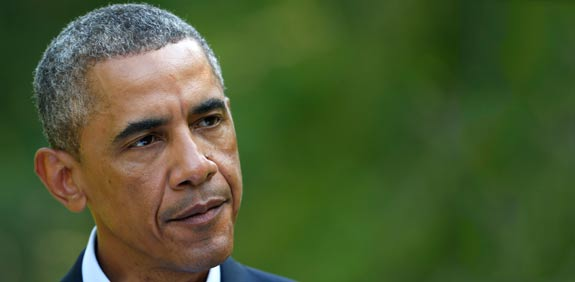 Barack Obama  picture: Reuters