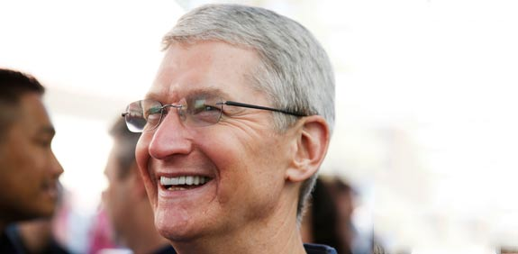 Tim Cook  picture: Reuters