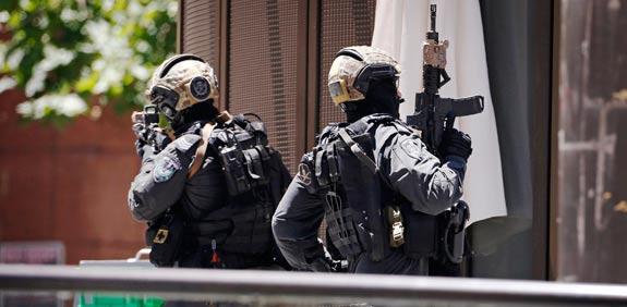 מחבל בסידני - אוסטרליה / צילום: רויטרס