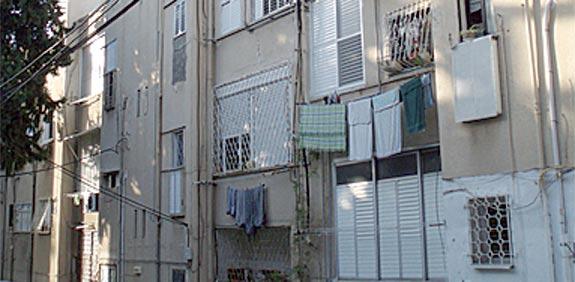 הבניינים הצפויים להיהרס / צילום: יחצ