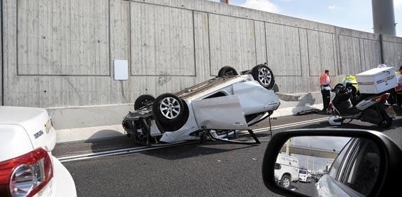 תאונה / צילום: איל יצהר