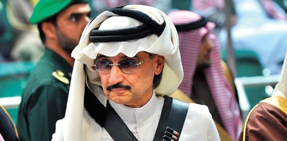 הנסיך אל וואליד בן-טלאל / צילום: רויטרס