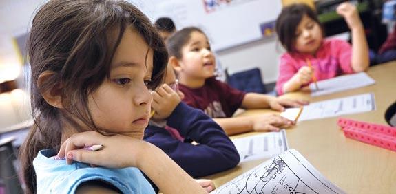 בית ספר בשיקגו / צילום: רויטרס