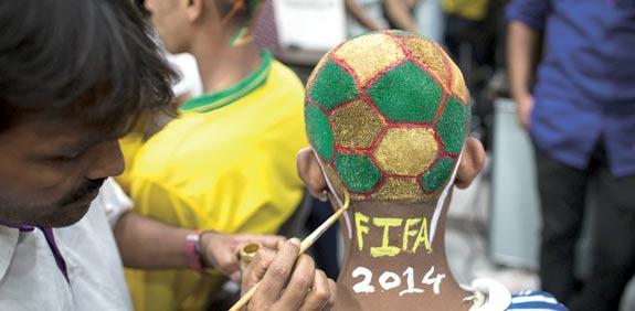 ברזיל מתכוננת למונדיאל / צילום: רויטרס