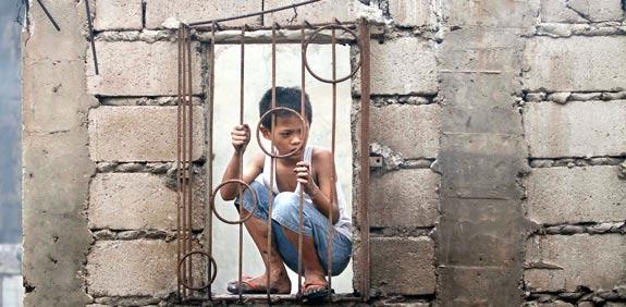 שכונת עוני בפיליפינים / צילום: רויטרס