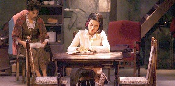 שחקנית סינית בתפקיד אנה פרנק / צילום: רויטרס