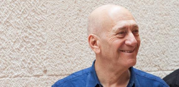 """אהוד אולמרט / צילום: אמיל סלמן - """"הארץ"""""""