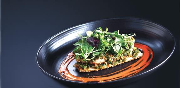 מנה של מסעדת טופולופומפו / צילום: דן פרץ