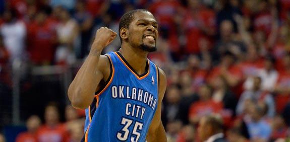 קווין דוראנט, אוקלהומה סיטי ת'אנדר, NBA / צלם: רויטרס