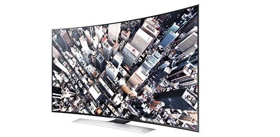טלוויזיה חכמה - סמסונג HU9000 / צילום: יחצ