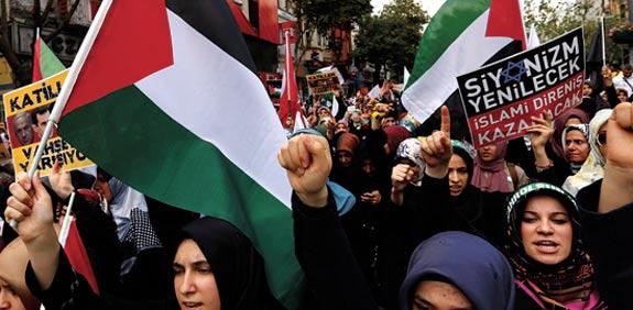 הפגנות נגד ישראל בטורקיה / צילום: רויטרס