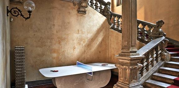 שולחן פינג פונג בעיצוב Edges / צילום: יחצ