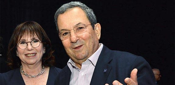 אהוד ברק ונילי פריאל / צילום: תמר מצפי