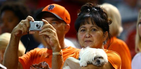 אוהדי סן פרנסיסקו ג'איינטס, MLB / צלם: רויטרס