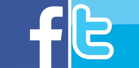פייסבוק טוויטר לוגו / צילום: יחצ