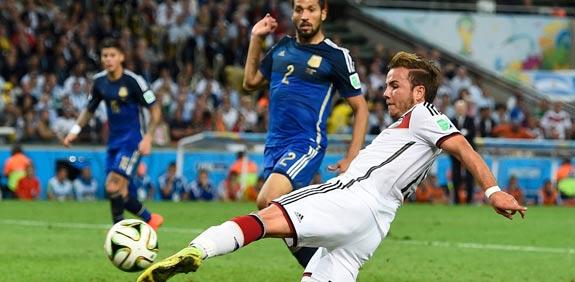 גרמניה מול ארגנטינה, גמר מונדיאל 2014 / צלם: רויטרס