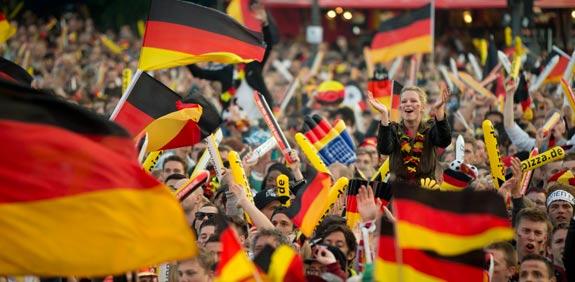 אוהדי נבחרת גרמניה / צילום: רויטרס