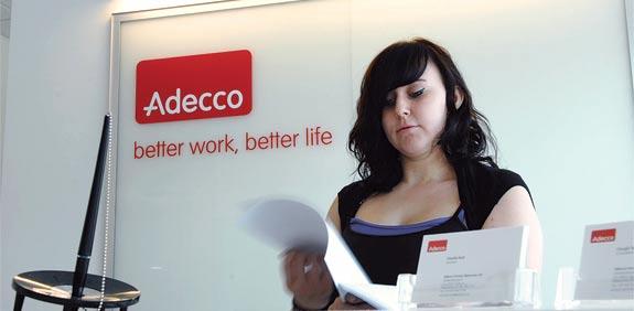 Adecco / צילום: בלומברג