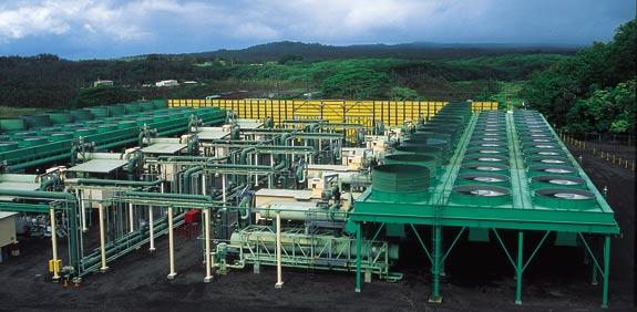 תחנת כוח של אורמת בהוואי / צילום: יחצ