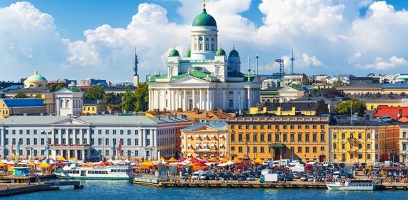 טסים - איך יודעים שהקיץ כבר הגיע להלסינקי שבפינלנד?