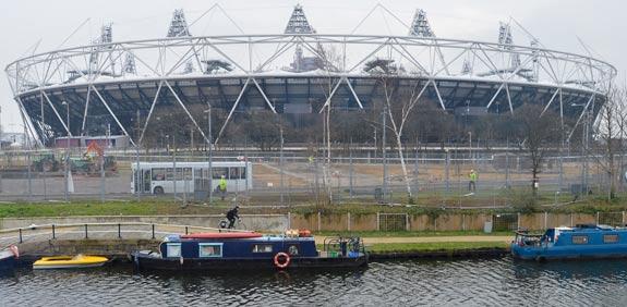 האצטדיון האולימפי בלונדון / צילום: רויטרס