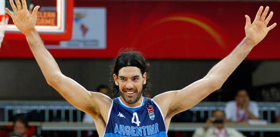 לואיס סקולה, נבחרת ארגנטינה בכדורסל / צלם: רויטרס
