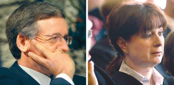 ענת ברון ומני מזוז / צילום: איל יצהר