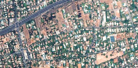 ישראל - מבט מלמעלה / צילום: אלבטרוס