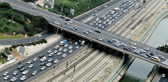 Israel's jammed roads