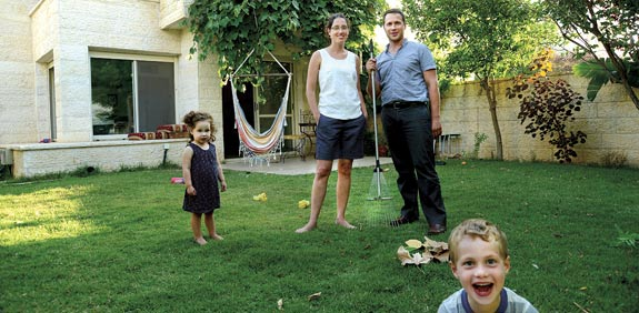 משפחת ויסברג / צילום: איל יצהר