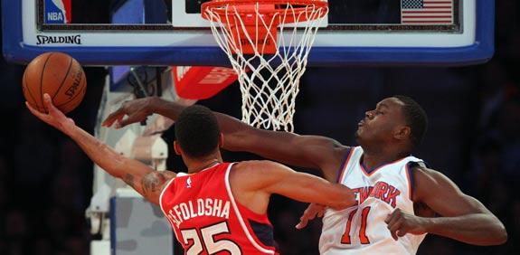 ניו יורק ניקס מול אטלנטה הוקס, NBA / צלם: רויטרס