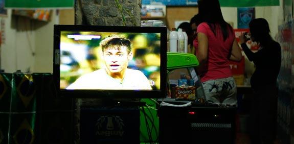 ניימאר, טלוויזיה, מונדיאל 2014 בברזיל / צלם: רויטרס