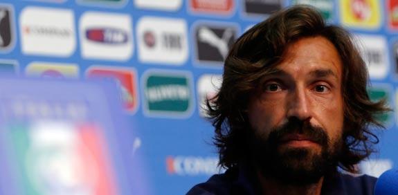 אנדראה פירלו נבחרת איטליה / צילום: רויטרס