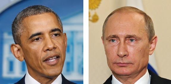 ולדימיר פוטין ברק אובמה / צילום: רויטרס