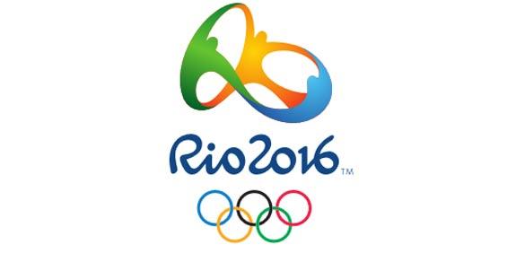 הלוגו של אולימפיאדת ריו דה ז'ניירו 2016 בברזיל