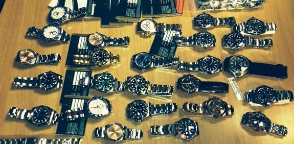 """שעוני רולקס / צילום: מכס נתב""""ג"""