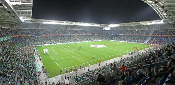 Sammy Ofer Haifa soccer stadium