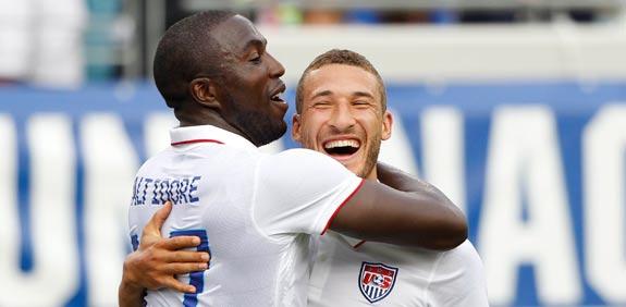 """נבחרת ארה""""ב בכדורגל / צלם: רויטרס"""