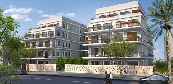 """הפרויקט שנבנה ברחוב מיכאלאנג'לו / הדמייה: בר אוריין אדריכלים בע""""מ"""