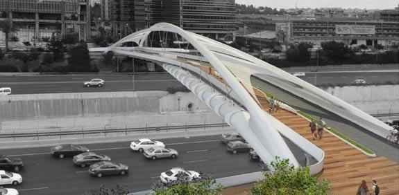 גשר יהודית ביצרון / צילום: משרד חן אדריכלים