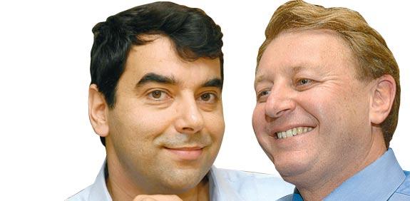 זיו אבירם ואמנון שעשוע / צילום: תמר מצפי