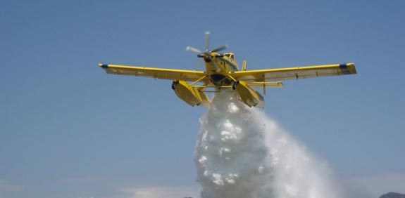 Elbit Systems Air-Tractor firefighters