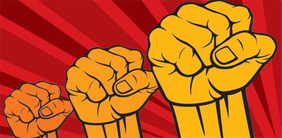 כוח לעובדים, אגרוף / איור Tribalium/Shutterstock.com א.ס.א.פ קראייטיב