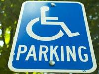 כסא גלגלים נכים נכה חניה  / צלם: פוטוס