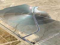 הדמייה של חווה טרמו סולארית של ברייטסורס באשלים