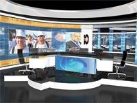 אולפן חדשות ערוץ 10 / צילום: יחצ